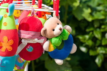 Soft Baby Toys hanging