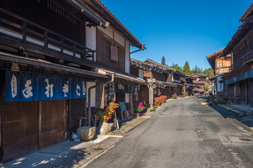 Tsumago, scenic traditional post town in Japan