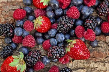 Frutos de bosque mezclados