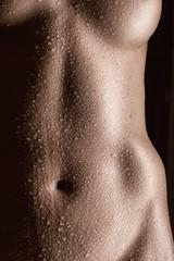 Wet belly