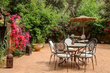 patio marocain 1