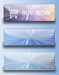 Web buttons buy now ( Gloss Sky collection)