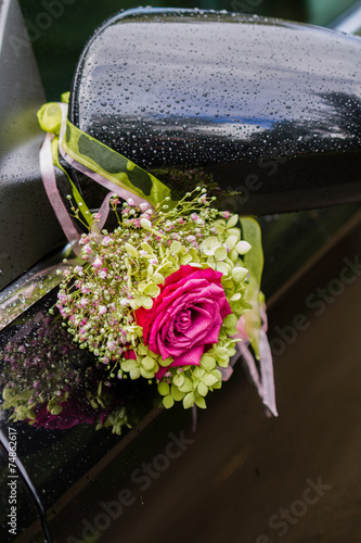 Hochzeitsauto Deko Stock Photo And Royalty Free Images On Fotolia
