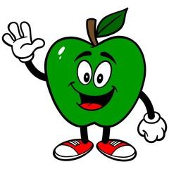 Green Apple Waving
