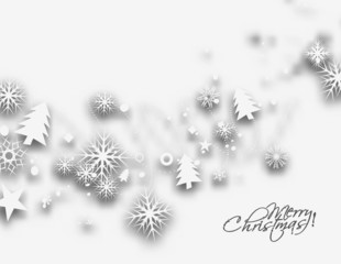 Modern abstract christmas background