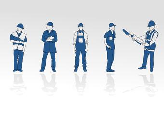 cinque operai
