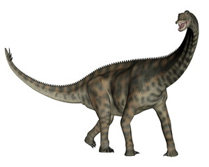 Spinophorosaurus dinosaur standing - 3D render