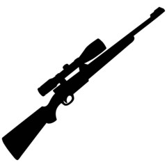 Hunting Rifle Silhouette