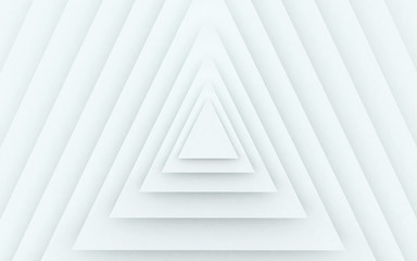 Stacked Triangles Abstract Background