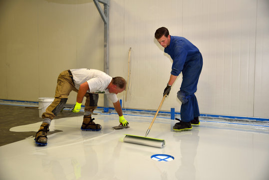 epoxy surface for floor