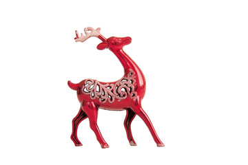 toy red deer to the feast