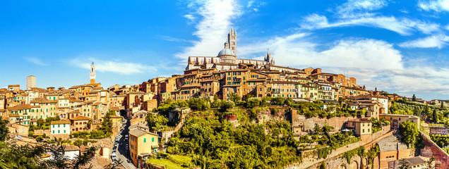 Foto op Canvas Toscane Siena, Tuscany, Italy
