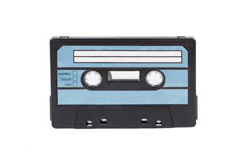 Blue Cassette Tape