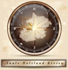 Karte vom Saale-Holzland-Kreis
