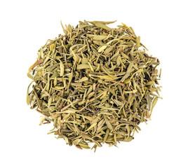 Aerial macro of dried thyme