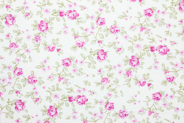 floral fabric background