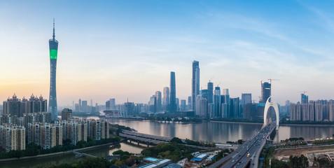Fotobehang - guangzhou panorama