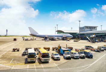 In de dag Luchthaven Airport