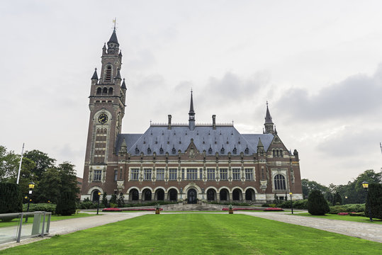 Peace Palace in The Hague