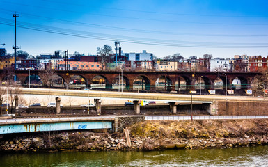 View of the Schuylkill River and West Philadelphia, Pennsylvania