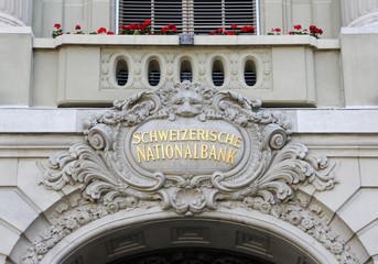 Swiss National Bank Entrance Building