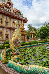 Dragon at Wat Chalong in Phuket