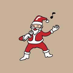 Singing Santa Christmas