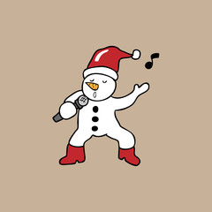 Singing Snowman christmas
