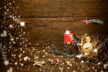 The Child Jesus Christmas card