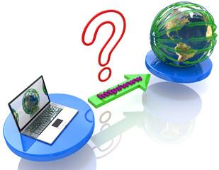 Connection Internet www address