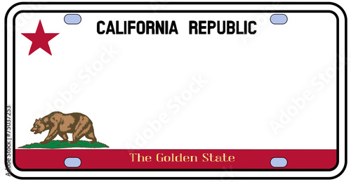california license plate stock image and royalty free vector files