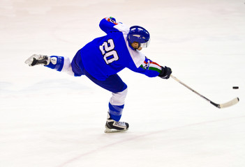 ice hockey player