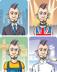 Four Occupations of Punk Guy