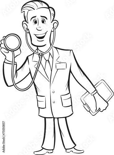 anime doctor coloring pages - photo#19