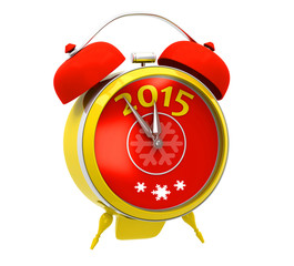 Yellow alarm clock 2015