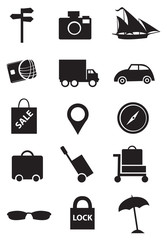 Icons for Travel Industry