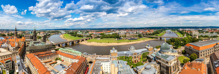 Panoramic view of Dresden
