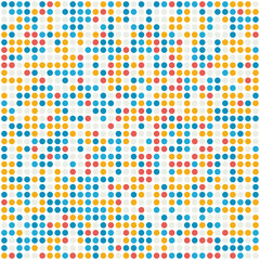 Abstract dotted vector background pattern