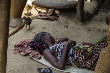 Landleben in Liberia