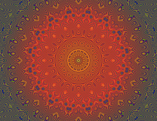 Beautiful meditation mandala