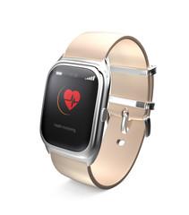 Smart watch display heart beat information on screen