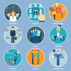 Variety Human Resource Icons