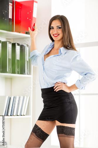 Amandha fox in ufficio ottimo lavoro col cazzo nero 7