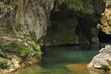 Natural Park El Cubano. Cuba