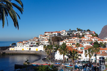 View of Camara de Lobos. Madeira island, Portugal