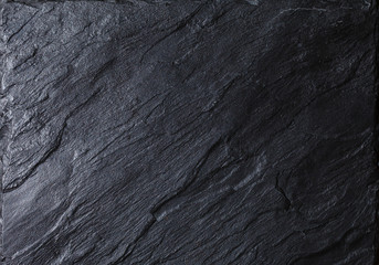 Foto auf AluDibond Steine black stone