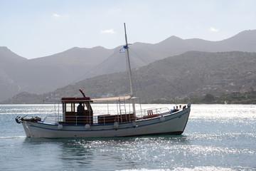 Boot bei Elounda, Kreta