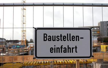 Baustelleneinfahrt-Baustelle-Hamburg
