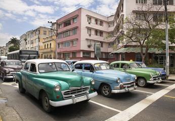 Old cars in Havana. Cuba