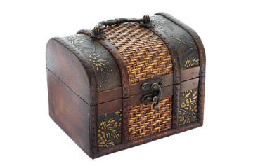 Chest with handle